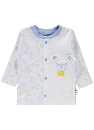 Kujju Kujju Erkek Bebek Pijama Takimi 0-6 Ay Mavi Kujju Erkek Bebek Pijama Takimi 0-6 Ay Mavi Mavi